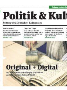 Politik & Kultur 01 2016
