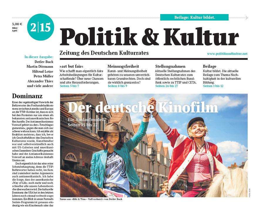 Politik & Kultur 02 2015