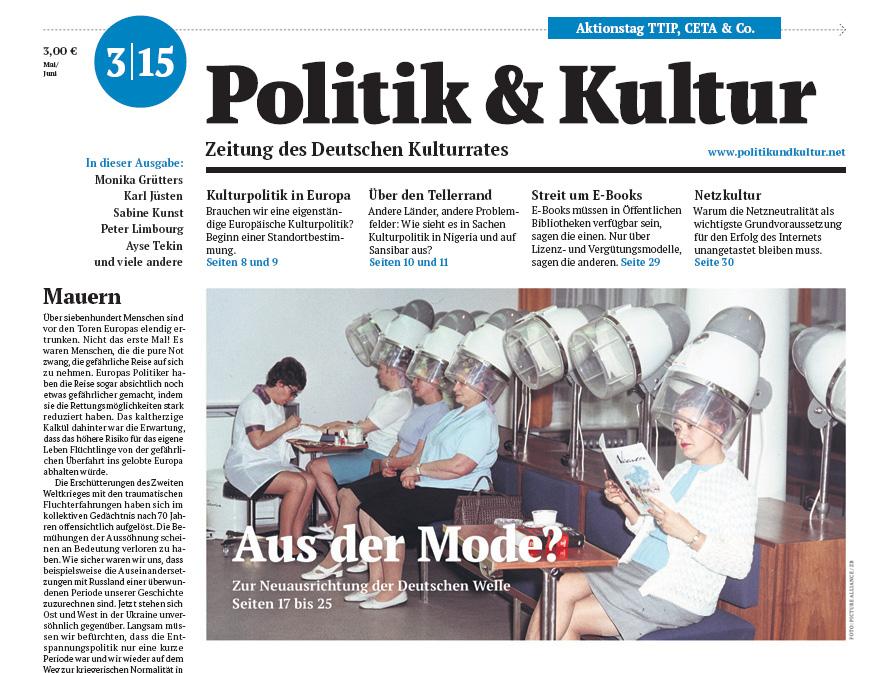 Politik & Kultur 03 2015