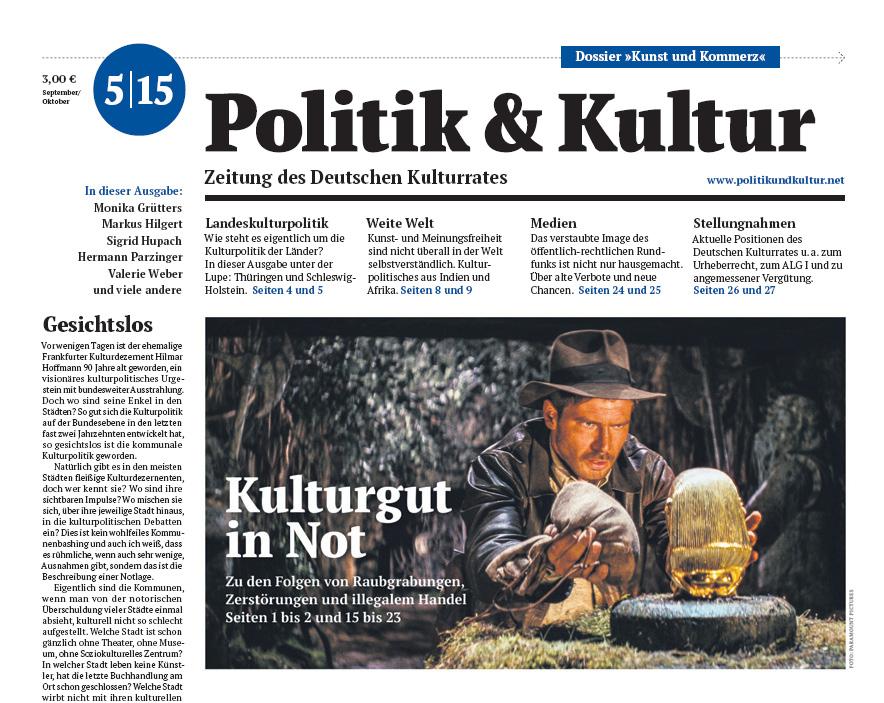 Politik & Kultur 05 2015