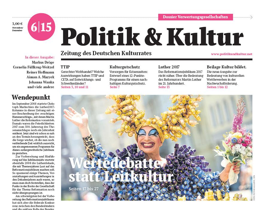 Politik & Kultur 06 2015