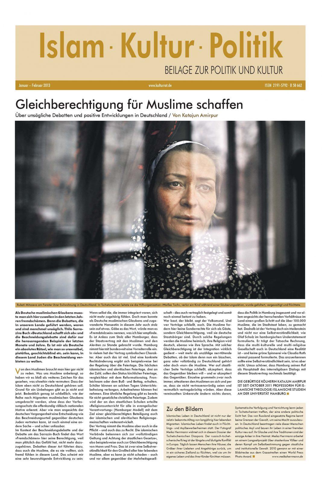 Beilage Islam Kultur Politik Nr. 5