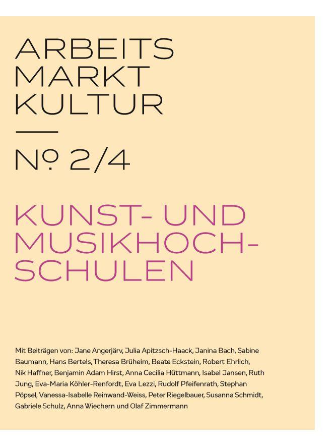 Arbeitsmarkt Kultur 2_Titelbild