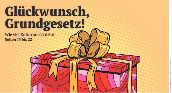 Glückwunsch, Grundgesetz! Schwerpunktausgabe Politik & Kultur 04/2019